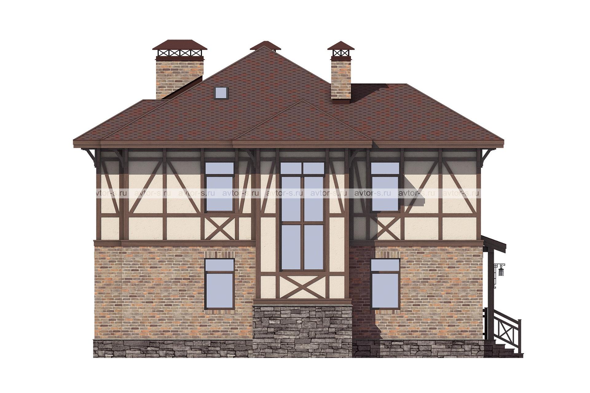 Проект AV319 фасад