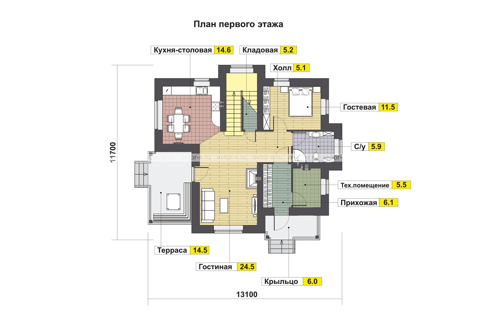 Проект AV319 план