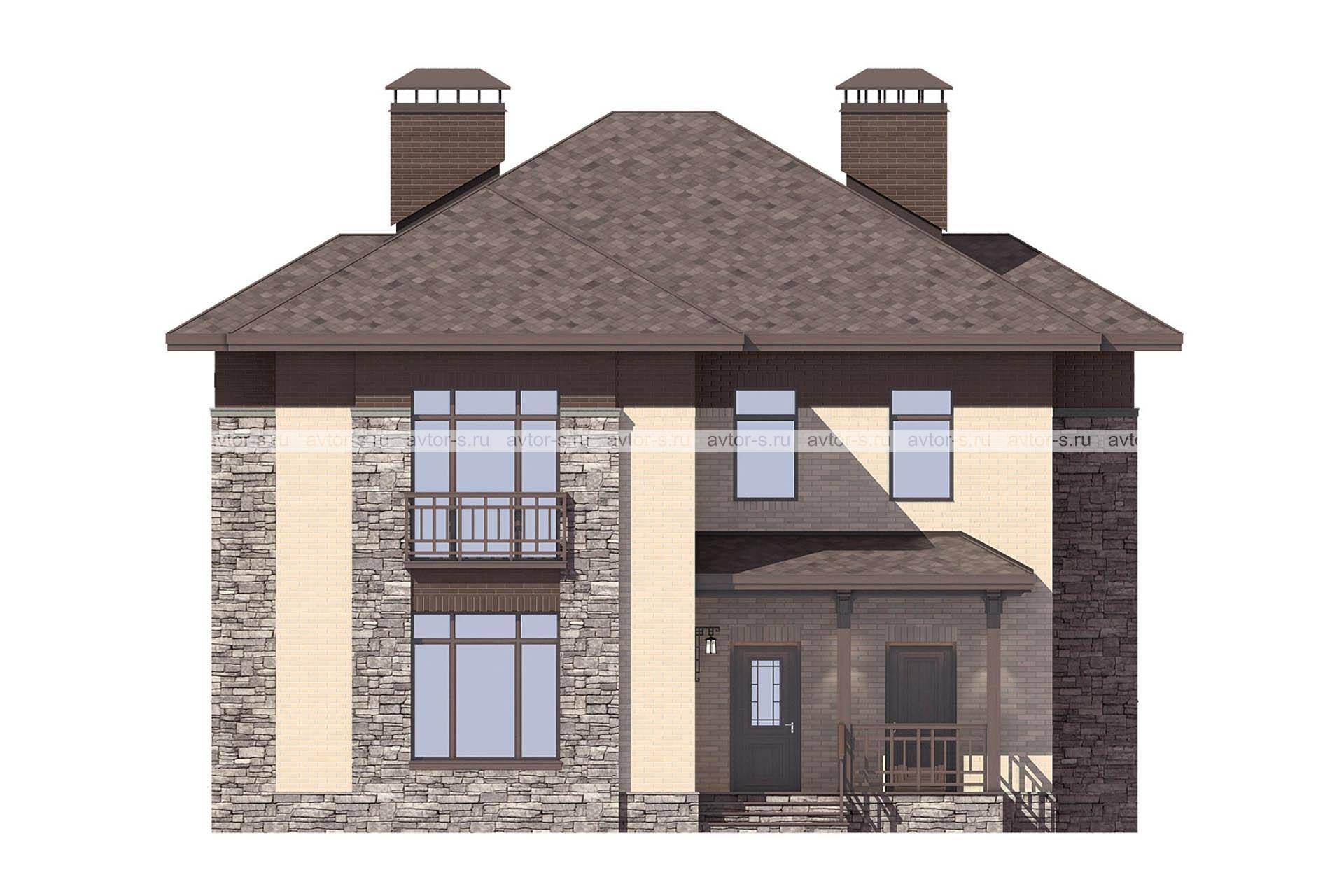 Проект AV314 фасад