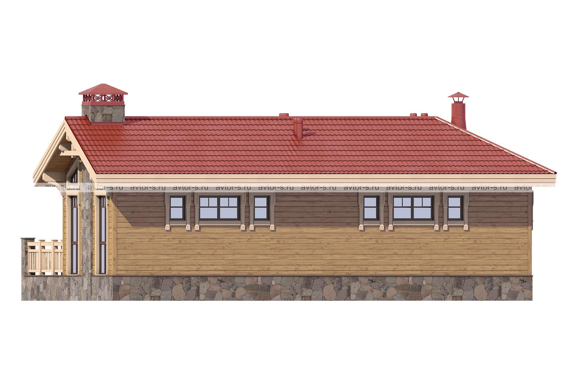 Проект AV317 фасад