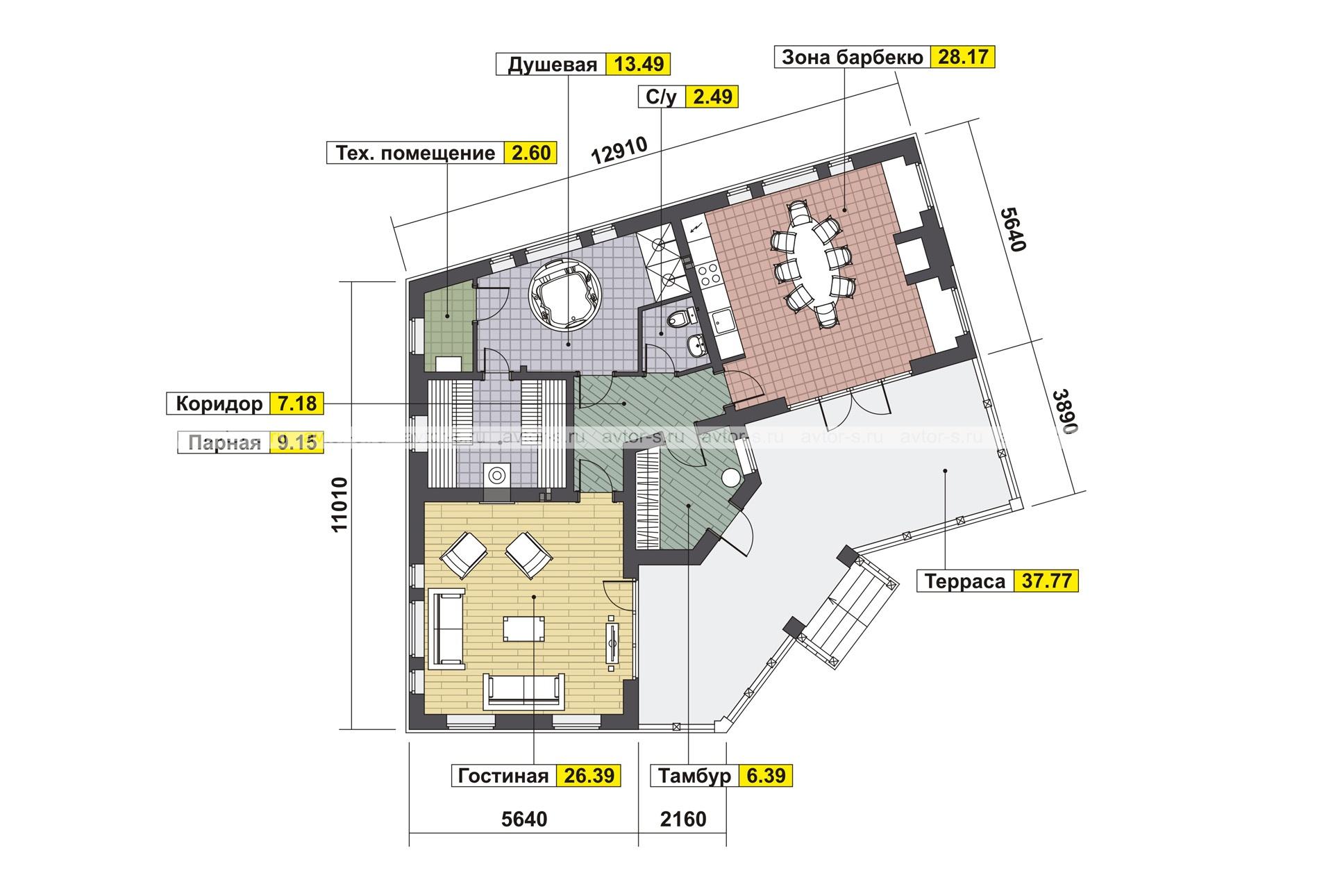 Проект AV317 план