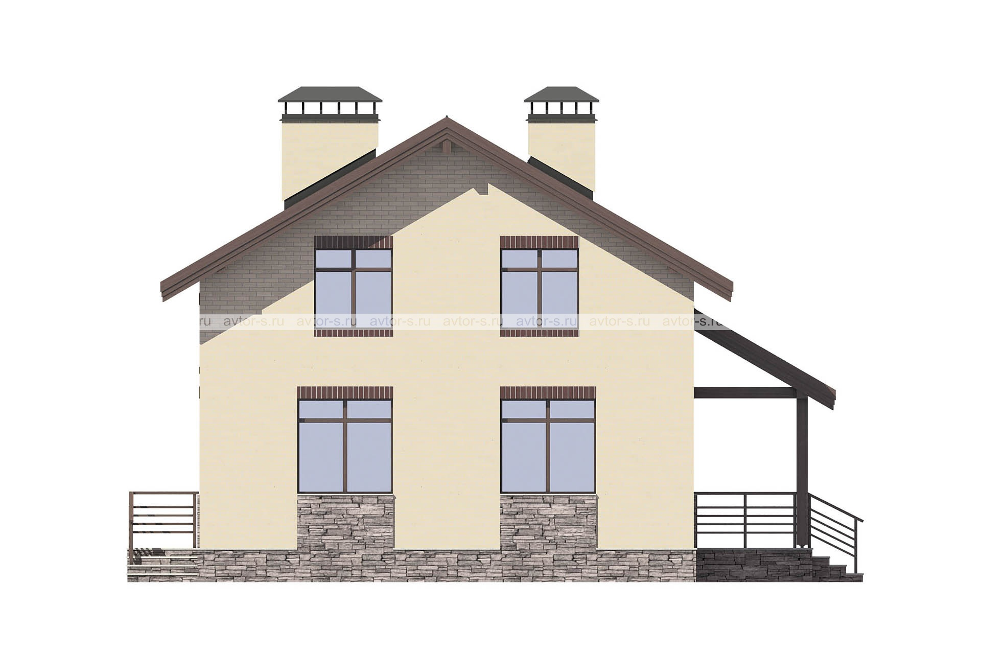 Проект AV313 фасад