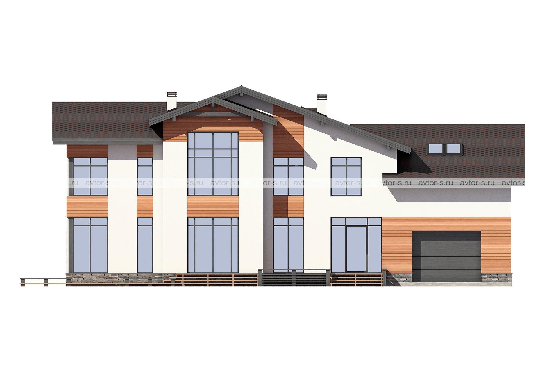 Проект AV323 фасад