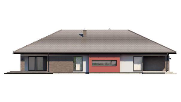 Проект дома 4m583 фасад