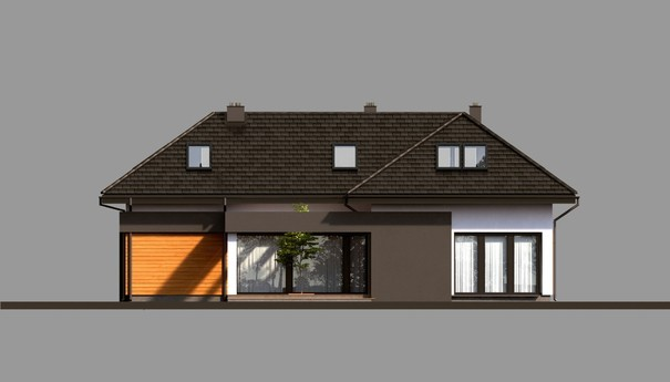 Проект дома 4m716 фасад