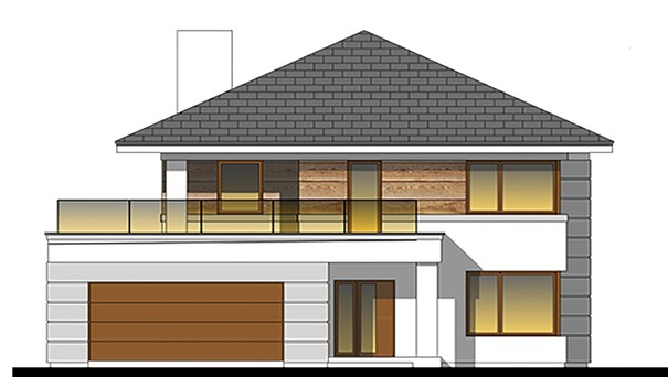 Проект дома 4m797 фасад