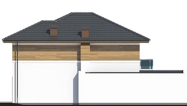 Проект дома 4m782 фасад