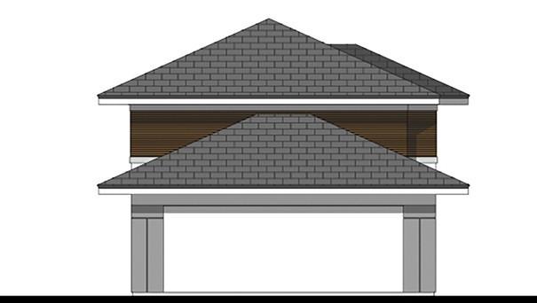 Проект дома 4m773 фасад