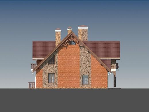 Проект дома 4m811 фасад