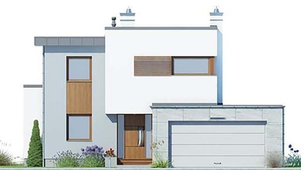 Проект дома 4m407 фасад