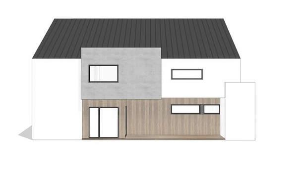 Проект дома 4m627 фасад