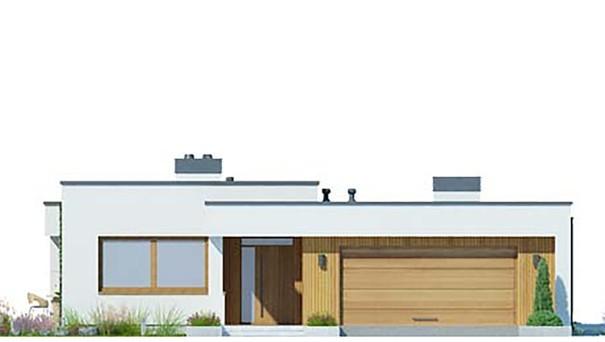 Проект дома 4m786 фасад