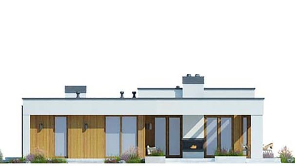 Проект дома 4m687 фасад