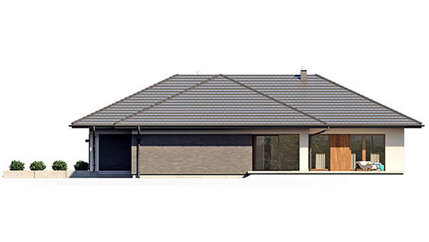 Проект дома 4m579 фасад