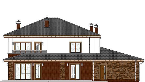 Проект дома 4m587 фасад