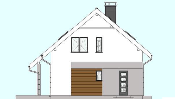 Проект дома 4m589 фасад