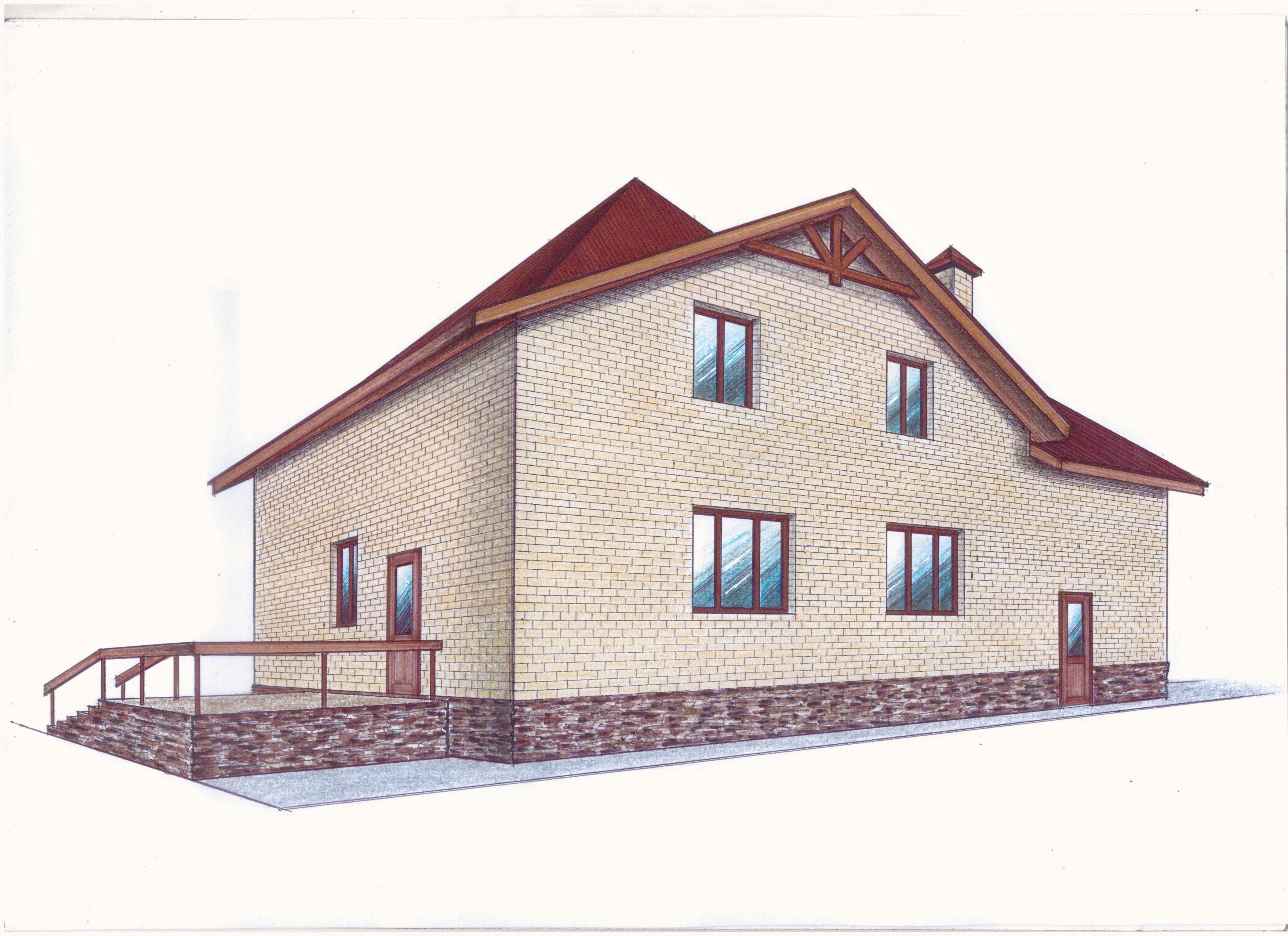 """Проект """"Иж-373"""" фасад"""