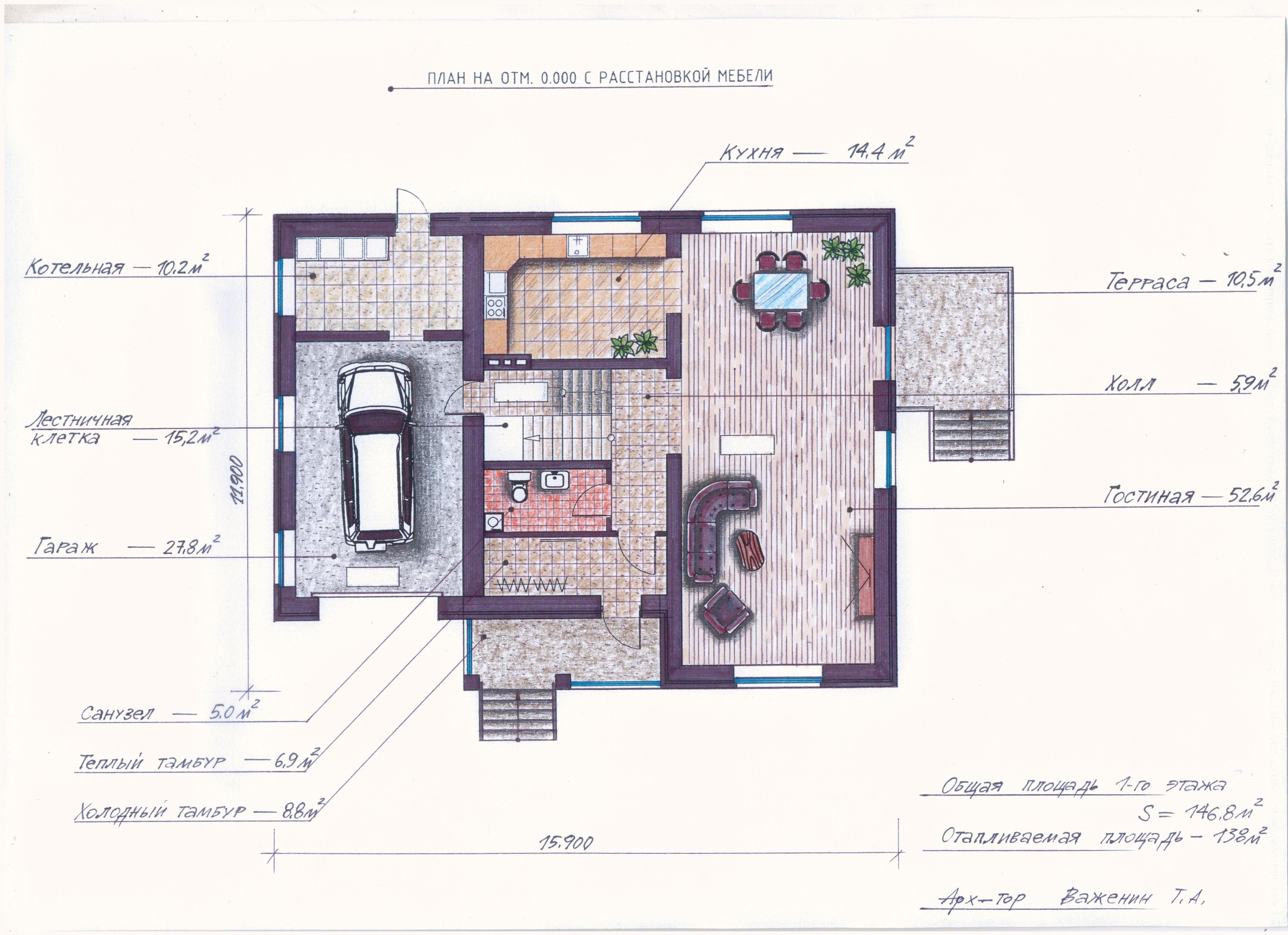 "Проект ""Иж-373"" план"