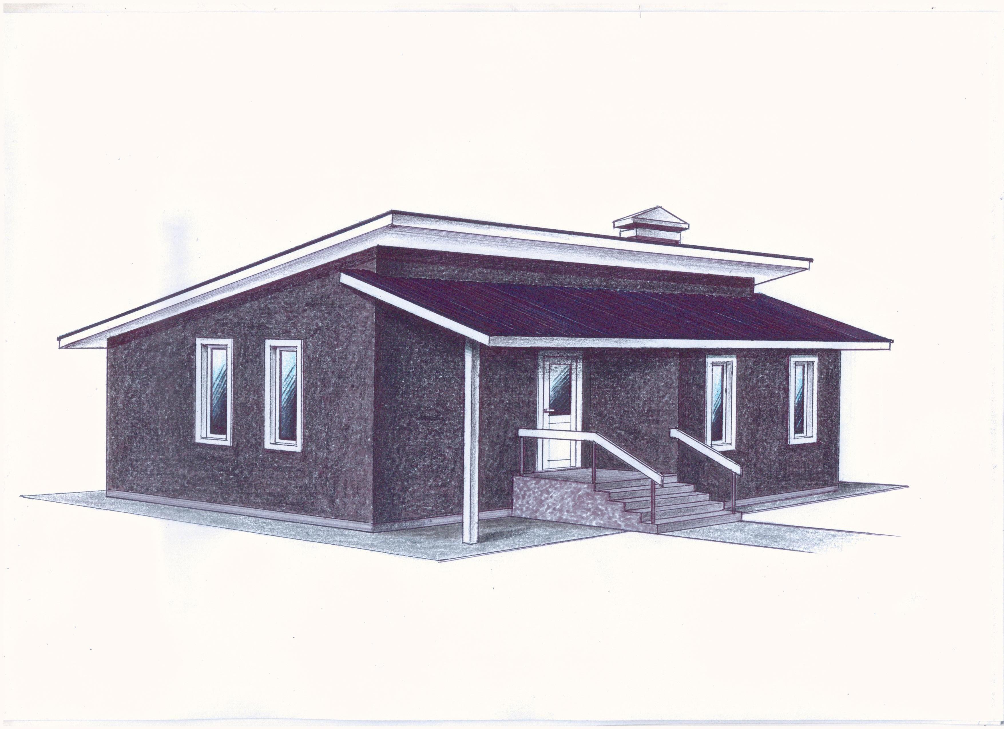 """Проект """"Иж-372"""" фасад"""