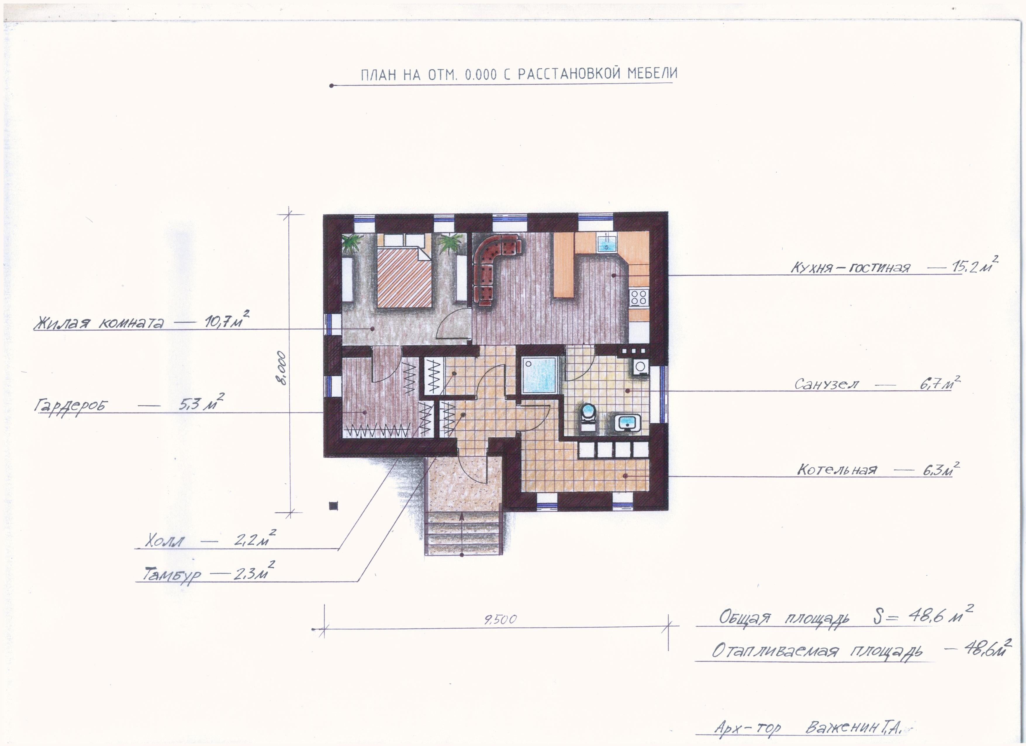 "Проект ""Иж-372"" план"