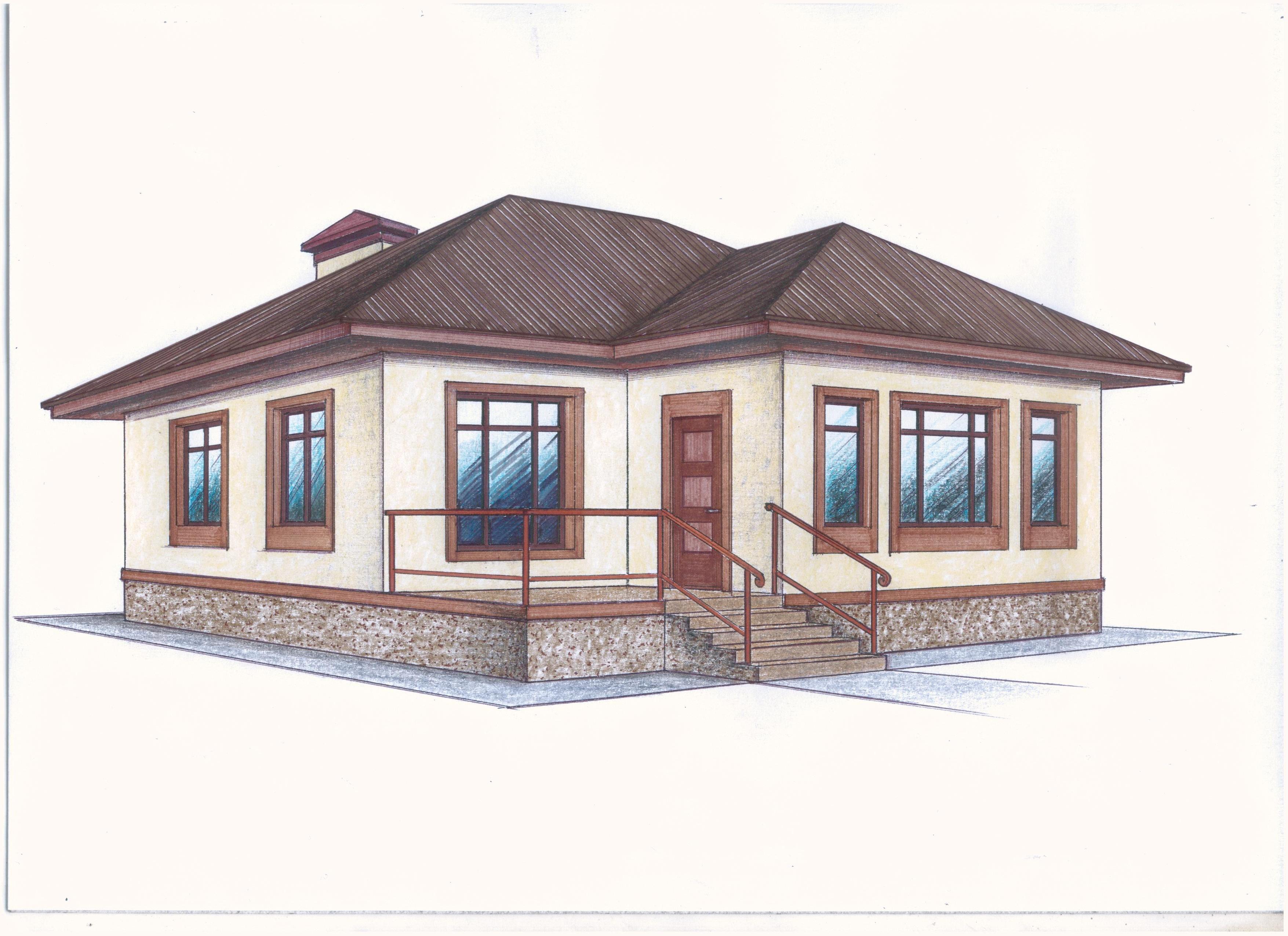 """Проект """"Иж-374"""" фасад"""