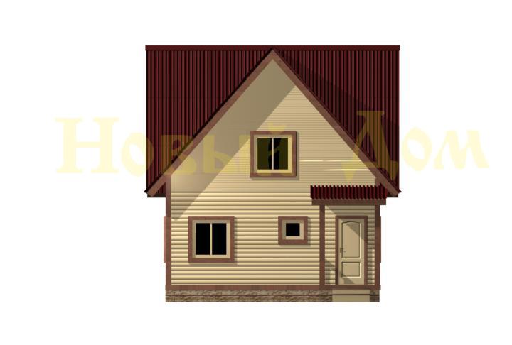 Проект дома Д-24-К. фасад