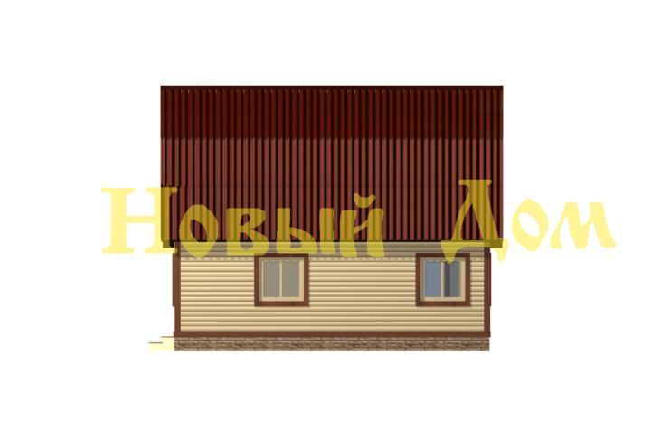 Проект дома. Д-30-Л. фасад