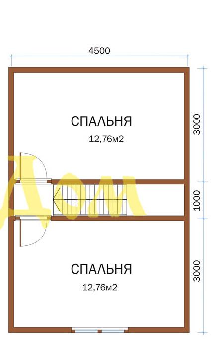 Проект дома. Д-30-Л. план