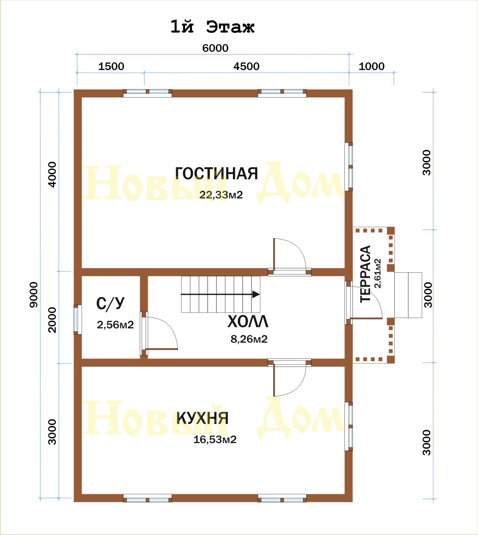 Проект Д-38-К. план
