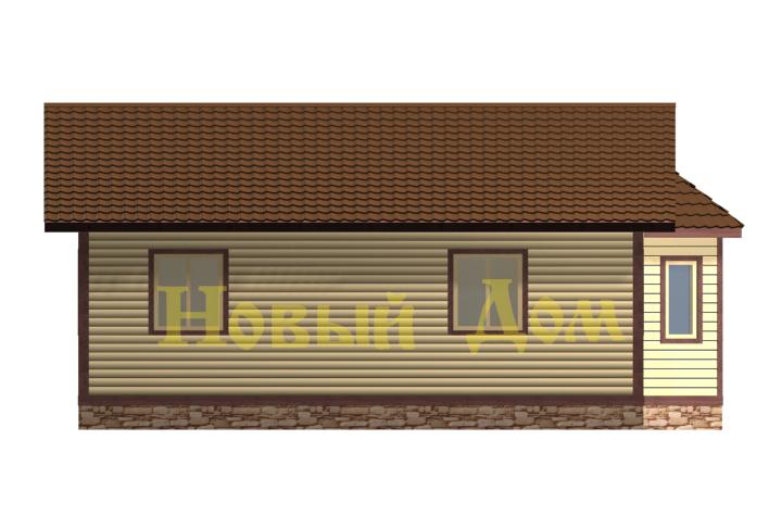 Проект Д-40-К. фасад