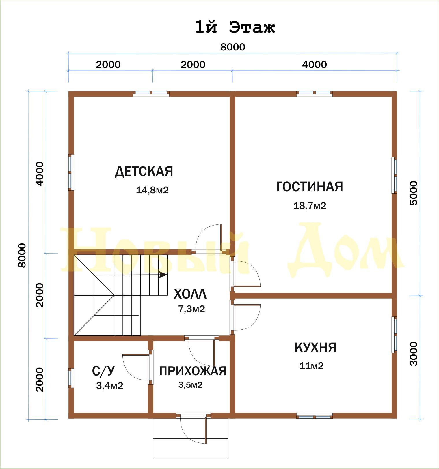 Проект д-46-К. план
