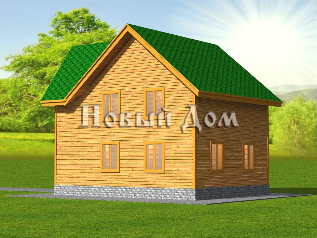 Проект К-2 фасад