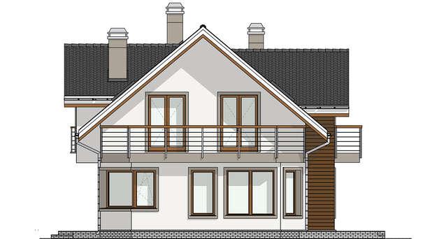 Проект дома 4m641 фасад
