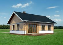 Проект дома 4m3518 фасад