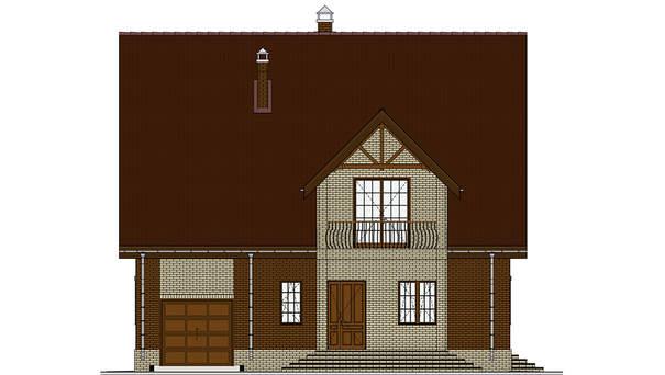 Проект дома 4m595 фасад