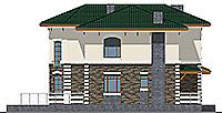 Проект кирпичного дома 41-13 фасад