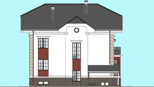 Проект дома 4m649 фасад