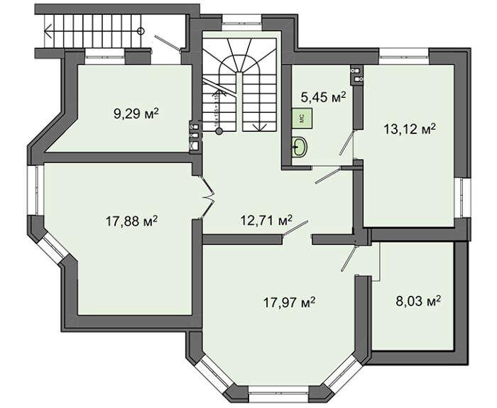Проект дома 4m649 план