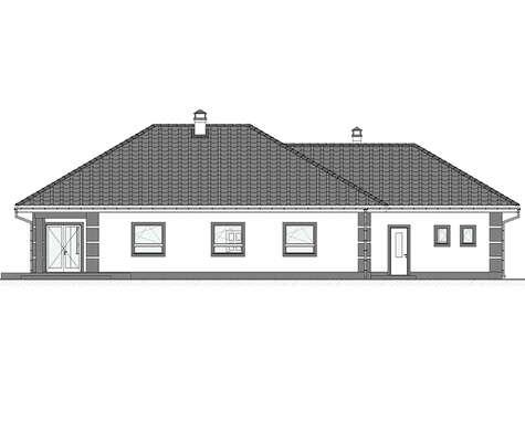 проект дома 4m647 фасад