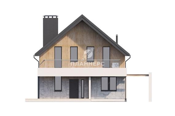 Проект дома 051-168-1М фасад