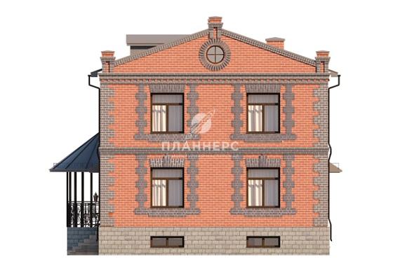 Проект дома Планнерс 023-245-2П фасад