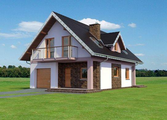 Проект дома 4m3200 фасад