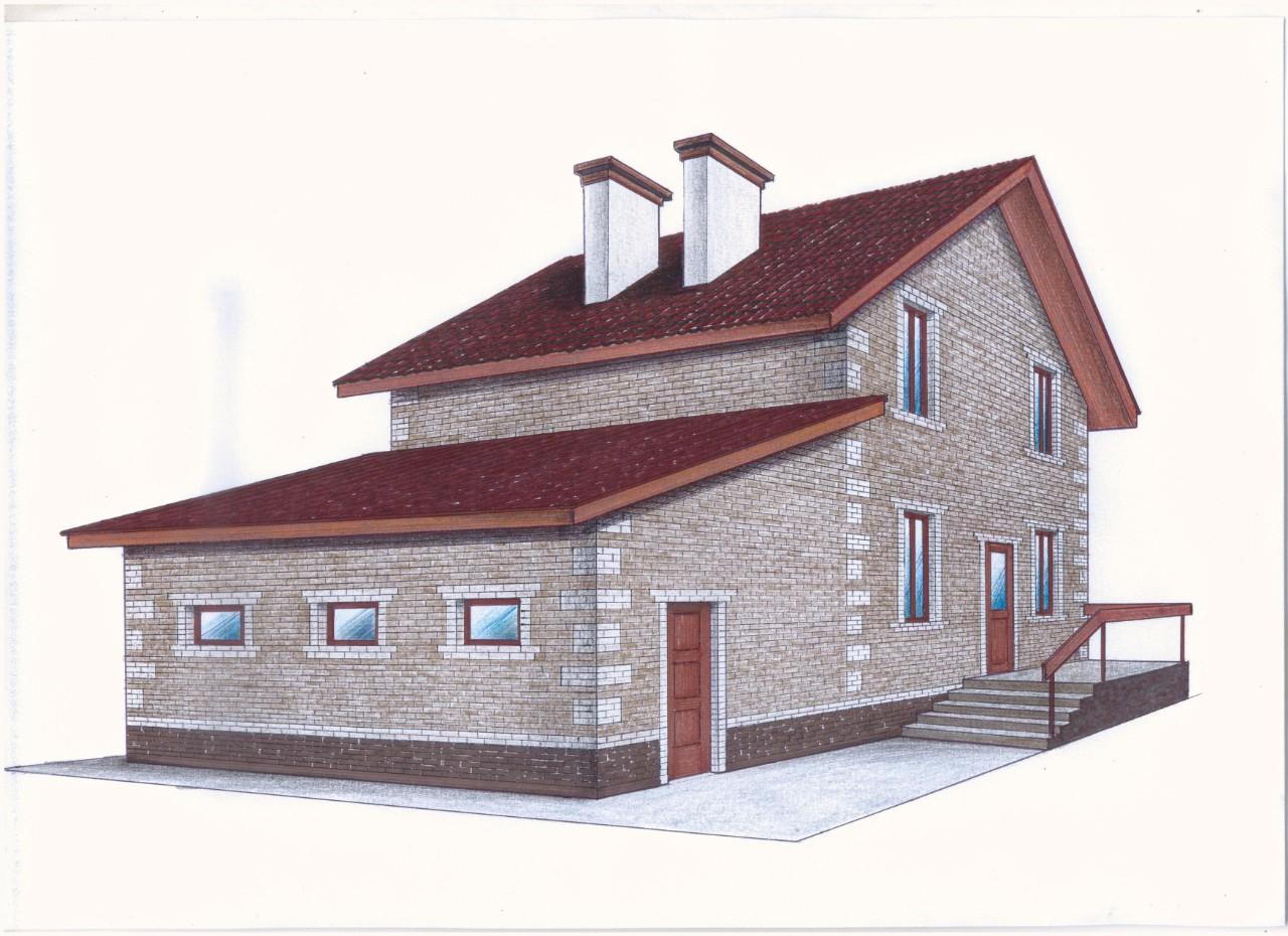 Проект Иж-375 фасад