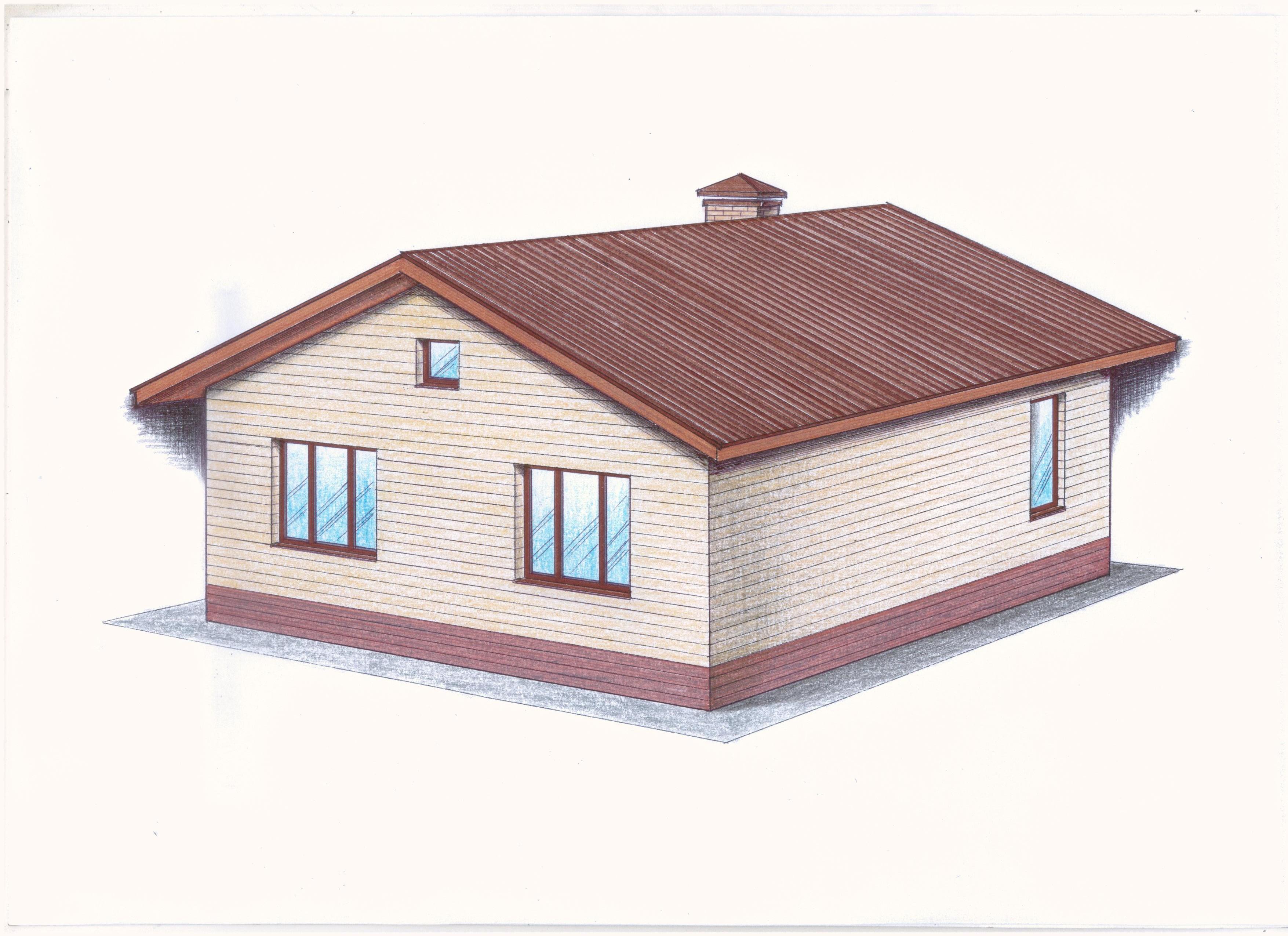 Проект Иж-377 фасад