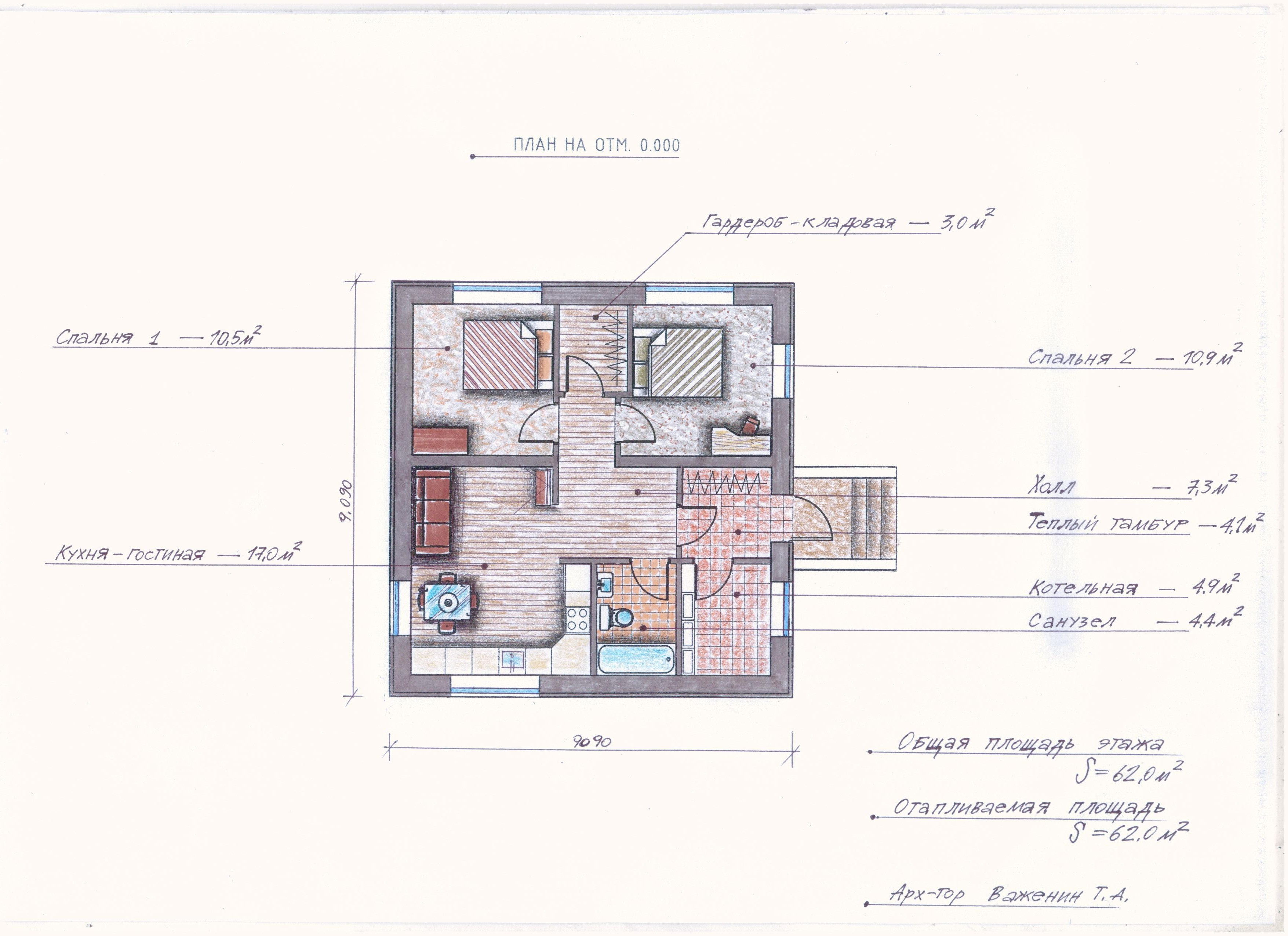 Проект Иж-377 план