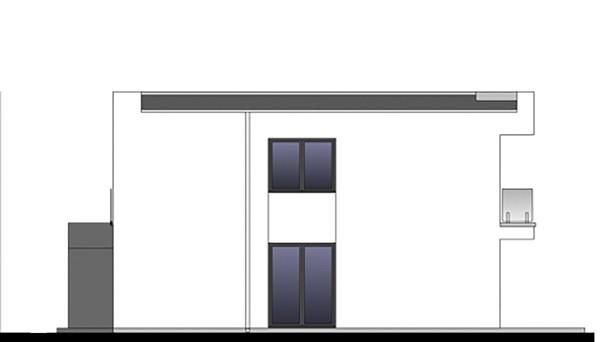 Проект дома 4m772 фасад