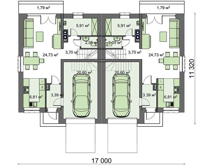 Проект дома 4m772 план
