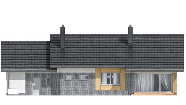 Проект дома 4m639 фасад