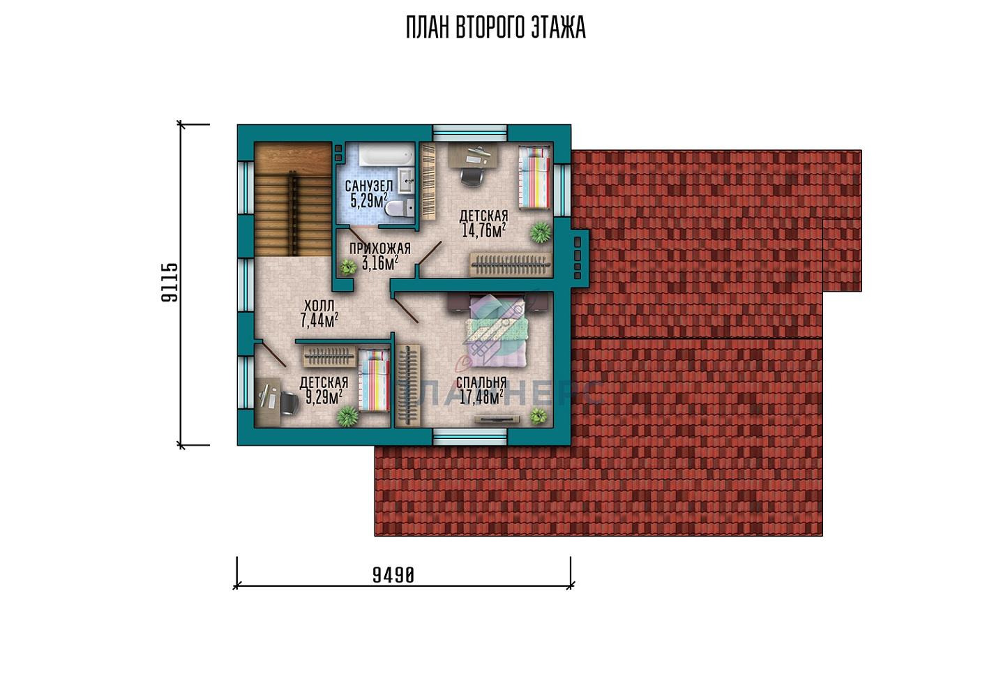 Проект Планнерс 030-174-1МГ план