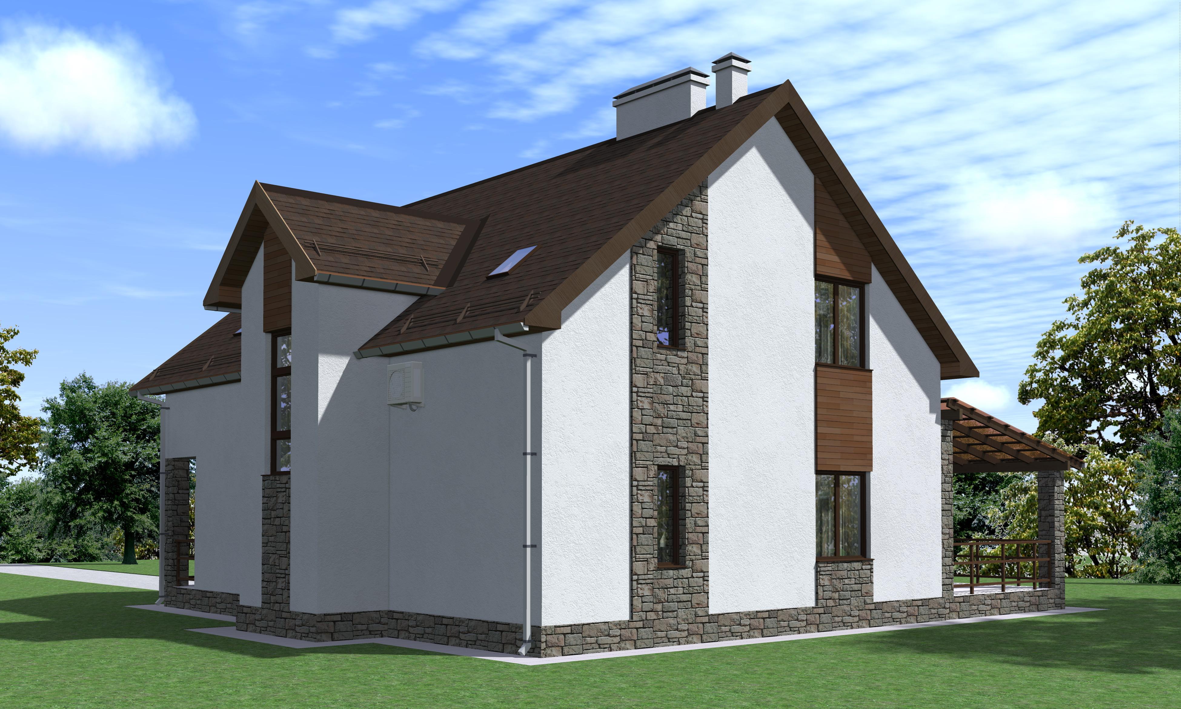 Проект 67.17 фасад